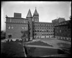 Worcester, Mass. Holy Cross College Rear Quadrangle 1914
