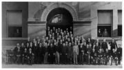Georgetown University School of Law 1892 Faculty and Class