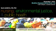 Nursing, Environmental Justice, and Public Health