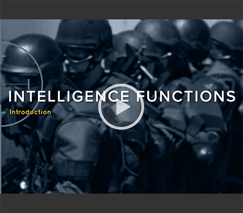 Intelligence Functions: Introduction. Click to play.