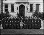 Woodstock College Woodstock Md. Ordination Group -1940 ( with Archbishop) Subdeaconship Day - June 2, 40 (and duplicates)