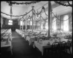 N.Y. Fordham Boy's Dining Room (Diagonal View)
