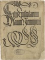 Cover for Liber Epistolarum sancti Hieronymi (1497)