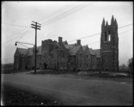 Philadelphia St. Joseph's College Main Bldg. from Street- 1926