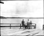 N. Andover Campion Hall Aug '38 Lake looking E. from Boat House