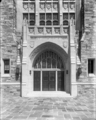 Washington DC Georgetown U. White Gravenor Entrance Sept 1933