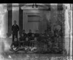Garrett Park Georgetown Prep School - Groups Football Team in 1921 ( Coach standing)