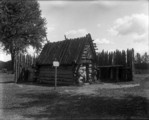 Auriesville Old Log House '34