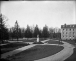 Woodstock College View in Front of House (1913)