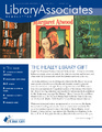 Cover for Library Associates Newsletter: Issue 121