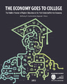 Cover for The Economy Goes To College