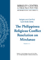 Cover for The Philippines: Religious Conflict Resolution on Mindanao