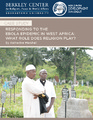 Cover for Responding to the Ebola Epidemic in West Africa: What Role Does Religion Play?