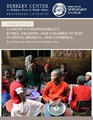 Cover for A Society's Responsibility: Ethics, Religion, and Children at Risk in Kenya, Senegal, and Cambodia