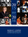 Cover for Berkley Center Annual Report 2015-2016