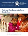 Cover for Faith and Development in Focus: Bangladesh