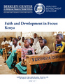 Cover for Faith and Development in Focus: Kenya