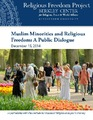 Cover for Muslim Minorities and Religious Freedom: A Public Dialogue