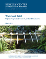 Cover for Water and Faith: Rights, Pragmatic Demands, and an Ethical Lens