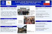 Cover for CLAS Flagship Program in Santiago