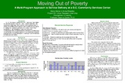 Cover for Moving Out of Poverty: A Service Program Assessment