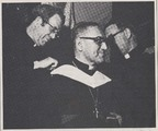 Georgetown University awards an honorary degree to Oscar A. Romero, Archbishop of San Salvador