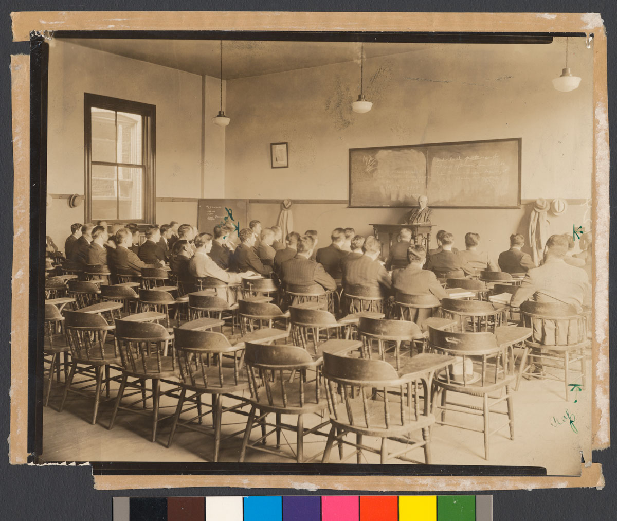 National American University Login >> Law School class at Georgetown University with Prof. Charles A. Keigwin, 1932