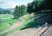 Gallo-Roman Theater, View of Seating and Portion of Performance Space