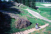 Gallo-Roman Theater, View of Seating with Modern Steps for Access