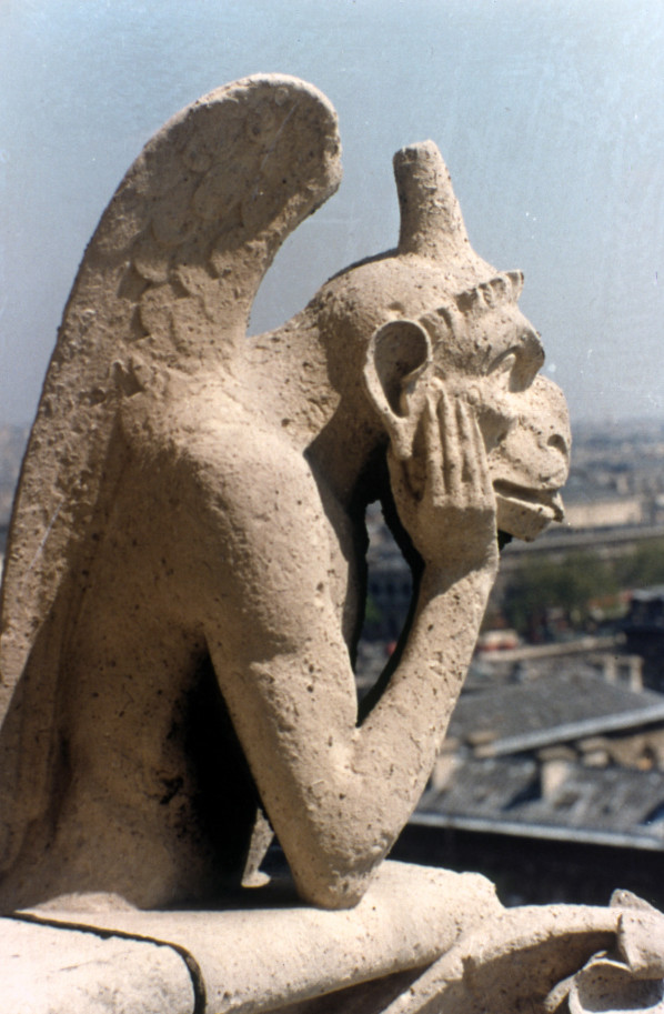 Notre Dame Cathedral Grotesque Le Stryge