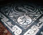 Novara Cathedral Choir Pavement Mosaic