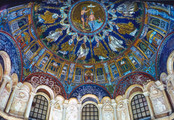 Orthodox Baptistery Dome, DetailNeon Baptistery; Cathedral Baptistery