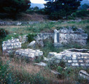 Salona Baptistery and Font, North of Basilica Remains
