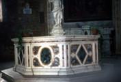 Battistero di San Giovanni, Interior and Baptismal Font Baptistery of St. John the Baptist, Interior and Baptismal Font