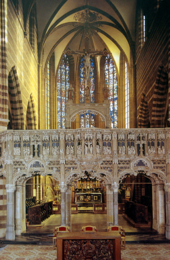 Cathedral Of Notre Dame Rood Screen And Choir