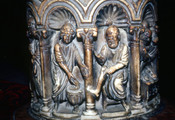 Columns of the Ciborium, San Marco, Washing of the Feet Detail