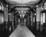 Parlor corridor in Healy Hall at Georgetown University