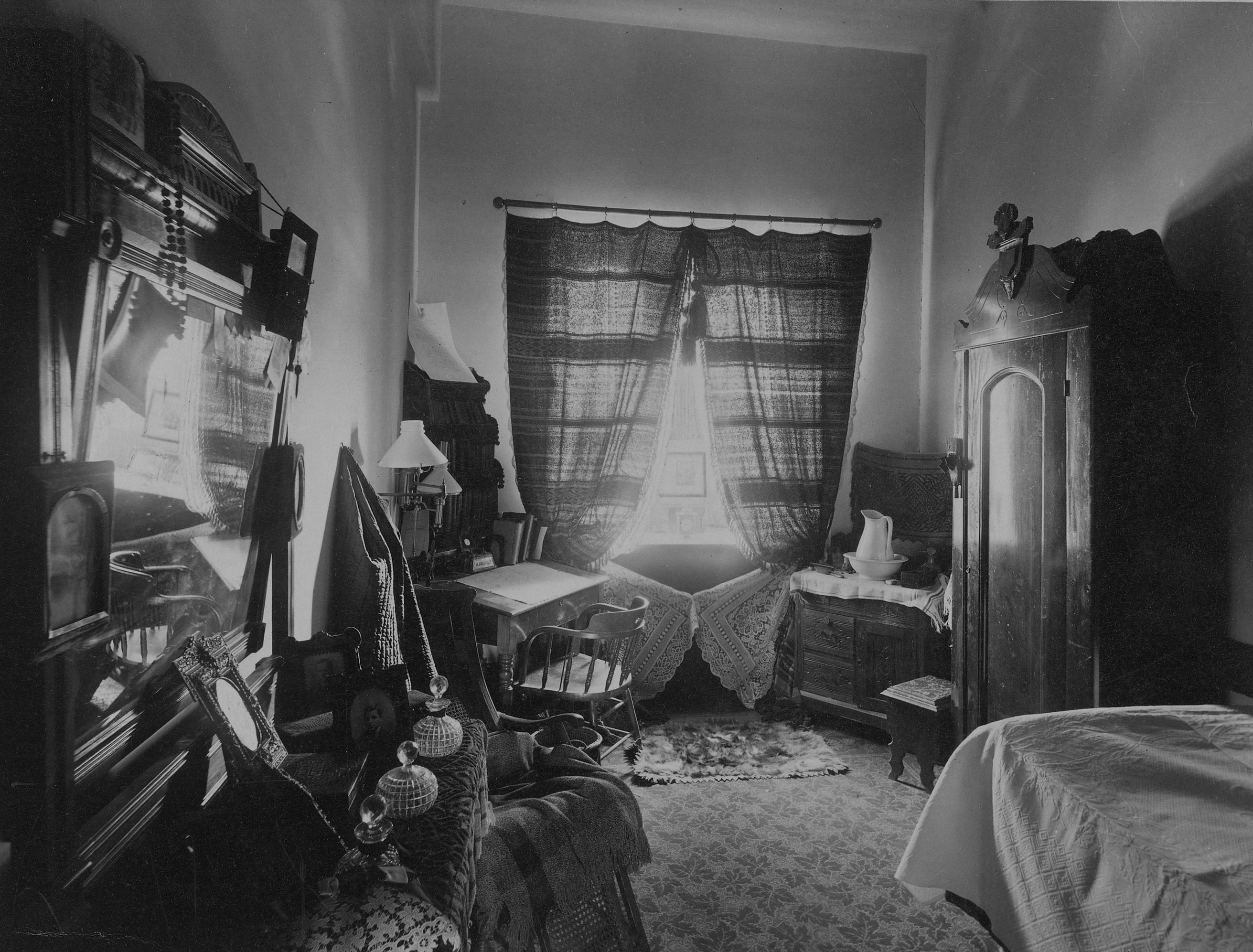 Student Room In Healy Hall At Georgetown University