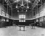 Interior of Ryan Gym at Georgetown University