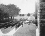 Official inauguration of the Students' Army Training Corps at Georgetown University