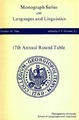 Cover for 17th Annual Round Table