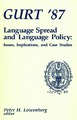Cover for Language Spread  and Language Policy:  Issues, Implications, and Case Studies