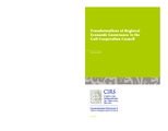 Cover for Transformations of Regional Economic Governance in the Gulf Cooperation Council