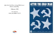 Cover for After the Cold War: Living With Lower Defense Spending