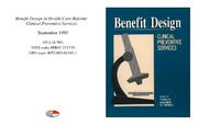 Cover for Benefit Design in Health Care Reform: Clinical Preventive Services