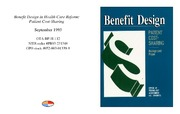 Cover for Benefit Design in Health Care Reform: Patient Cost-Sharing