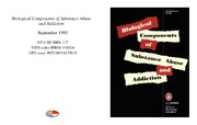 Cover for Biological Components of Substance Abuse and Addiction
