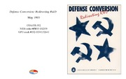 Cover for Defense Conversion: Redirecting R&D