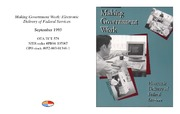 Cover for Making Government Work: Electronic Delivery of Federal Services