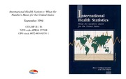 Cover for International Health Statistics: What the Numbers Mean for the United States